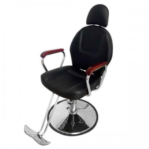 Функционален бръснарски стол с падаща облегалка 036A
