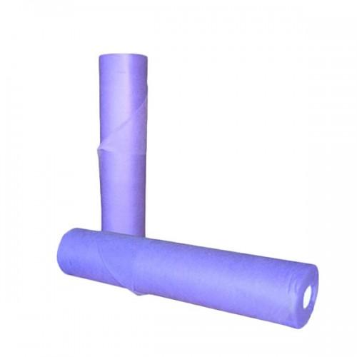 Чаршафи за еднократна употреба на ролка с перфорация, лилав цвят 60 см или 70 см