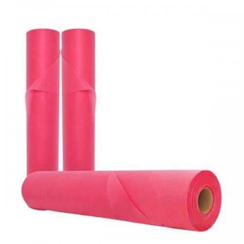 Розови еднократни чаршафи 58 см/20 грама TNT - SDP135