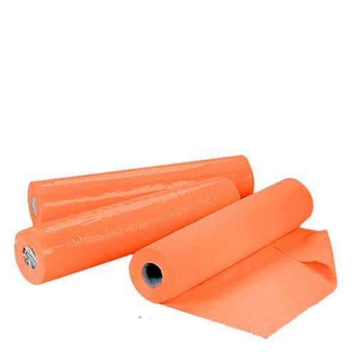 Еднократни чаршафи TNT на ролка - Оранжеви  60 см или 70 см