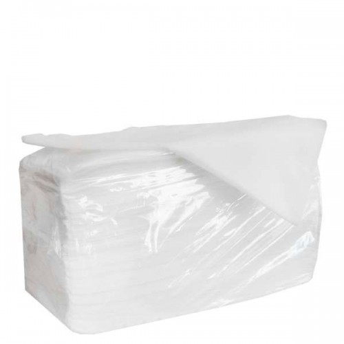 Бели фризьорски кърпи от нетъкан текстил, 100бр.