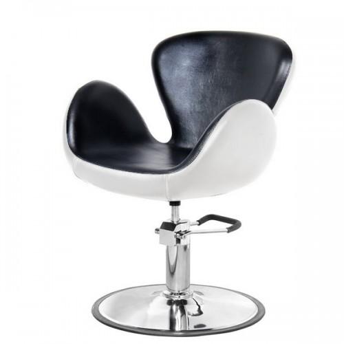 Фризьорски стол PA3390BL в черно или черно-бяло