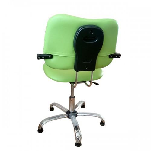 Фризьорски стол, зелен цвят