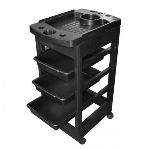 Фризьорска количка с 3 чекмеджета - модел MS04