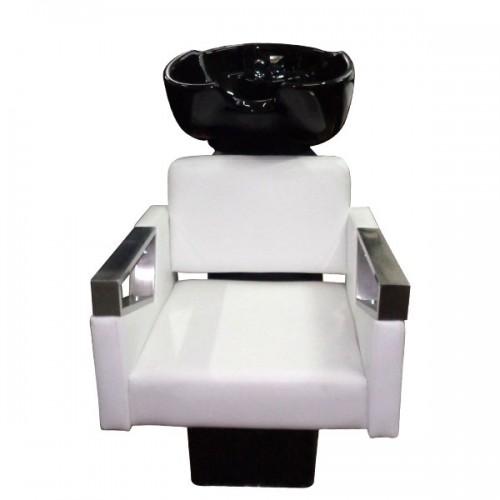 Измивна колона с керамична фризьорска мивка