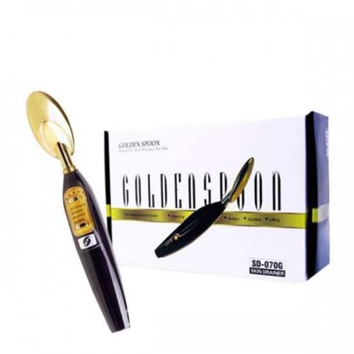 Портативен козметичен уред – ултразвукова златна лъжичка 070G