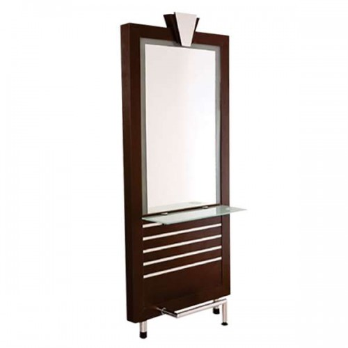 Стилно фризьорско огледало модел М18