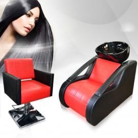 Фризьорски комплект с измивна колона и стол за подстригване