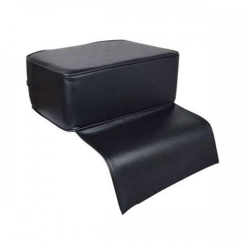Детска възглавничка за фризьорски стол, черна