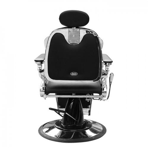 Луксозен бръснарски стол в черно IM229