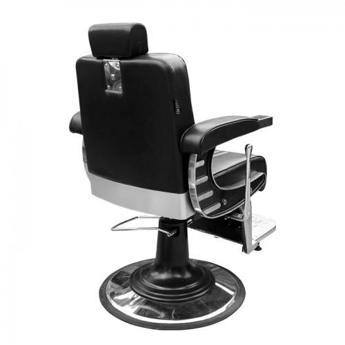 Бръснарски стол в черно IM237