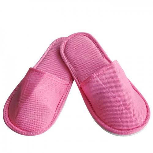 Чехли от нетъкан текстил в розов цвят - 10, 20 или 60 броя