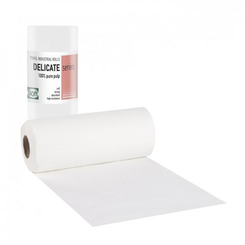 Плътни хартиени кърпи на руло Softcare