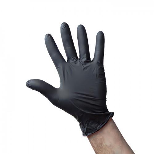 Wurth черни еднократни ръкавици от нитрил, 100 броя