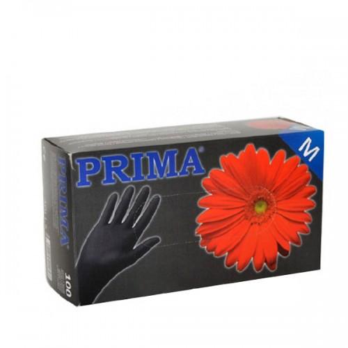 Еднократни черни ръкавици, кутия 100 броя