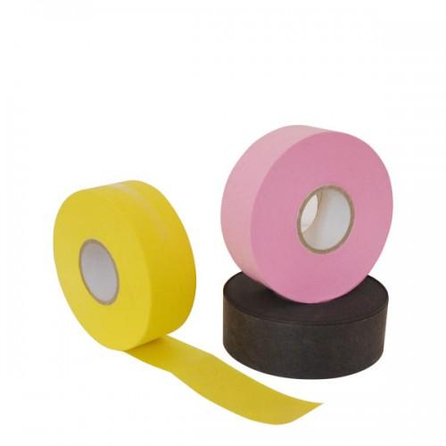 Цветна лента за кола маска - ролка 70 метра - жълта