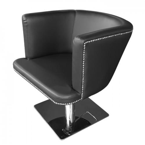 Фризьорски стол в черно M720