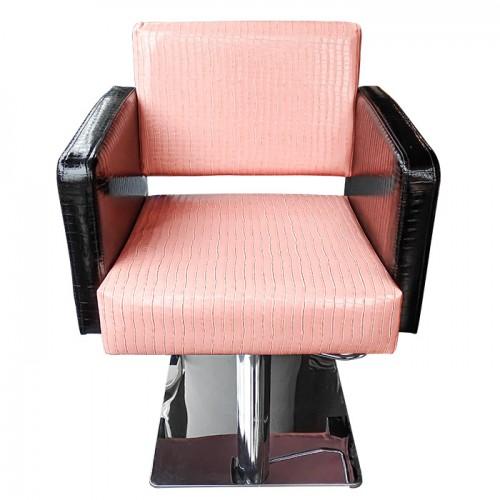 Професионален фризьорски стол M90, Черно-розов