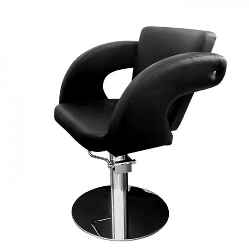 Професионален стол за подстригване М1001 - черен
