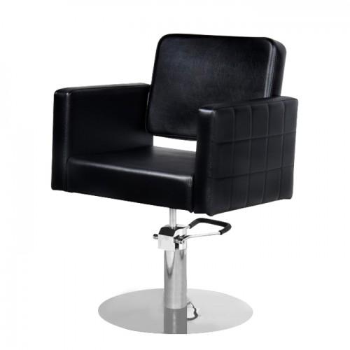 Фризьорски стол за подстригване в черен цвят модел M970