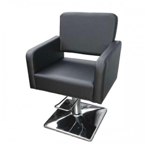 Стилен фризьорски стол М300 в черно