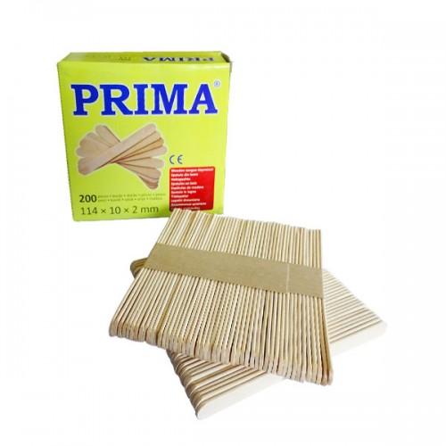Шпатули за кола маска Prima от бреза 200 броя в опаковка
