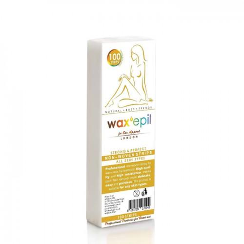 Нарязани ленти за кола маски WaxEpil - 100 броя