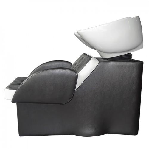 Измивна колона с комфортен дизайн M24, Черно-бяла