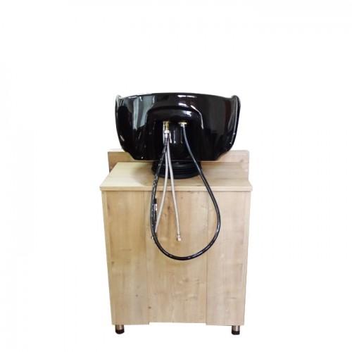 Фризьорска мивка модел 253 с дървена основа