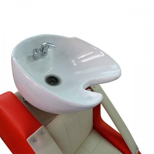 Изцяло оборудвана фризьорска мивка М400-f в нестандартна комбинация