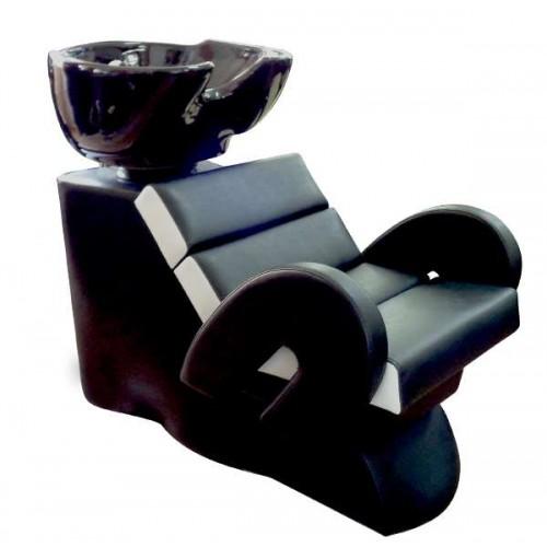 Професионална измивна колона FO22 - Черно-бял