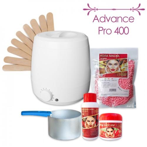 Професионален пакет за кола маска процедури с перли Advance Pro 400