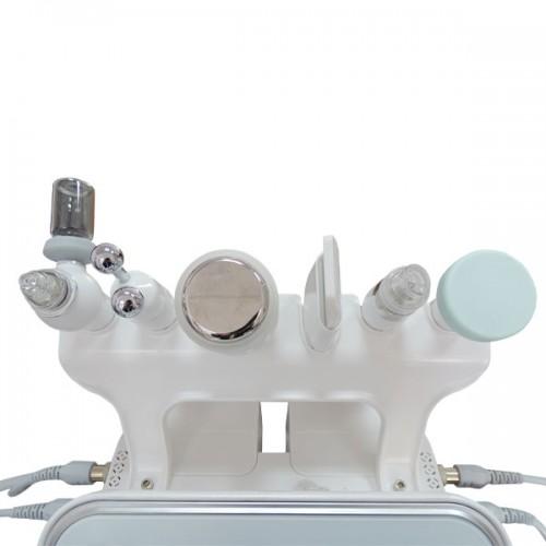 Козметичен уред 6 в 1 W05X - водно дермабразио, кислороден спрей, BIO RF, чук за студена терапия, ултразвук и ултразвукова шпатула