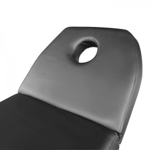 Комбинирано козметично легло KL260 в черен цвят, ширина 60 см
