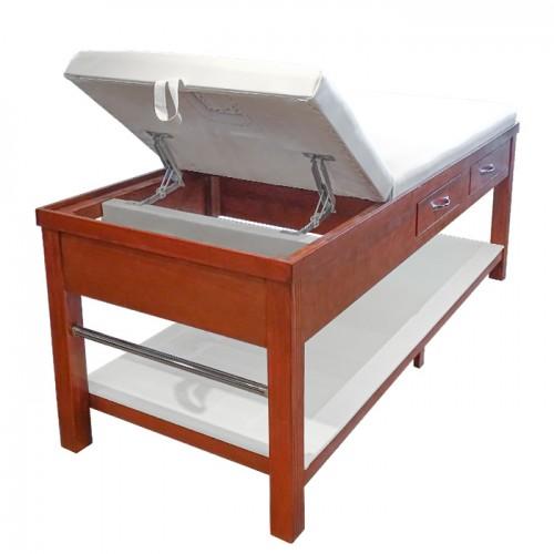 Дървено козметично и масажно легло с чекмеджета ML310