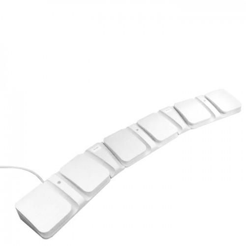 Бяло козметично легло с педали dm 2345
