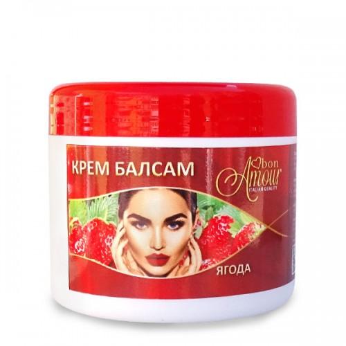 Балсам за намаляване растежа на косъма след кола маска 500ml, аромат Ягода