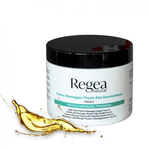 Натурален масажен крем Regea - 500мл