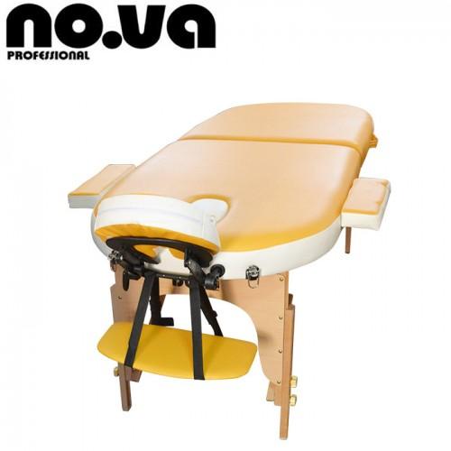 Овална Дървена масажна кушетка NO.VA Ello Delux NV23