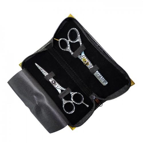 Атрактивен сет от 2 броя професионални фризьорски ножици модел DS5