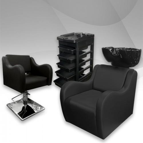 Комплект с фризьорско оборудване Leather