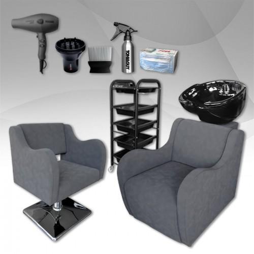 Комплект с фризьорско оборудване Grey Velvet