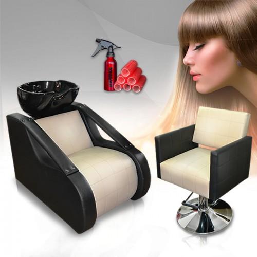 Елегантен комплект с фризьорско оборудване Natural