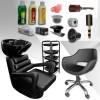 Практичен фризьорски комплект с подарък - аксесоари и козметика Style Essentials