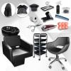 Професионален фризьорски комплект с над 10 подаръка Full Start