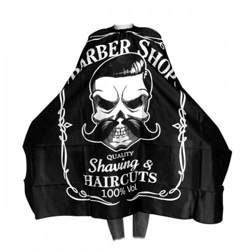 Пелерина за подстригване - черна