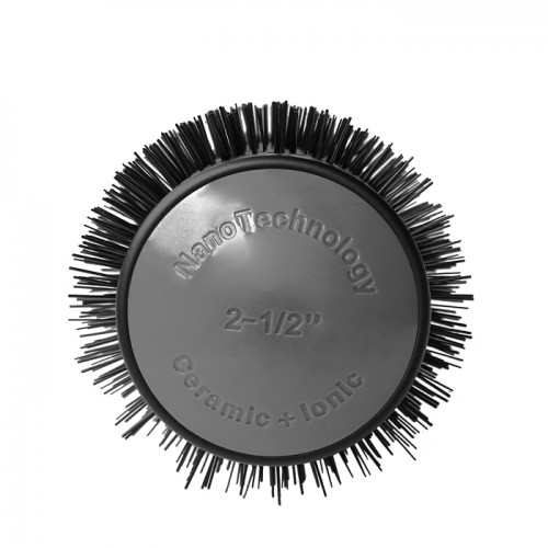 Термоустойчива четка за сешоар с керамично-турмалиново покритие, 65 мм