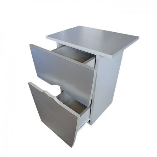 Сив фризьорски шкаф модел 405